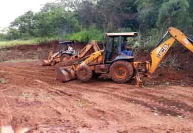 Inúmeros serviços realizados na área rural beneficia moradores e produtores