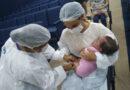 Centralina inicia vacinação contra Influenza e crianças recebem a dose